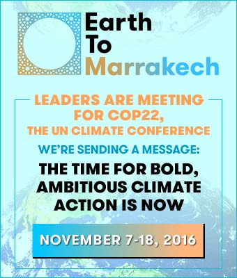 Earth to Marrakech