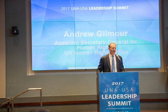 Andrew Gilmour, UNA-USA Leadership Summit, UN Human Rights
